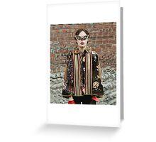 Trippy Clothing. Greeting Card