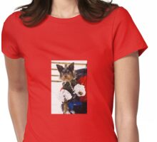 Snow Gloves Womens Fitted T-Shirt