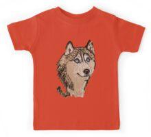Siberian Husky 2 TS Kids Tee