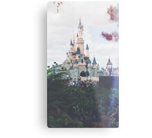 Disney Land  Metal Print