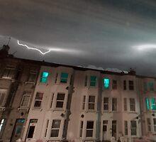 Lightning in Infrared (IR) by Pepperkayn