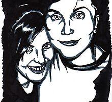 Frank and Jamia Iero  by XXVenganzaXX