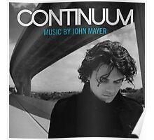 John Mayer Continuum Poster