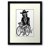 Funny Walkers Zombie Killer  Framed Print