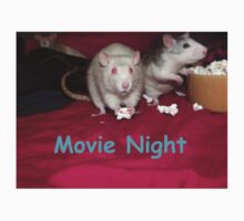 rats movie night by mindgoop