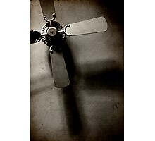 born to be propeller Photographic Print