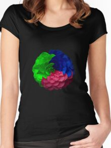 RGB Women's Fitted Scoop T-Shirt