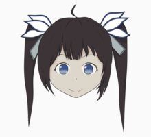 is it wrong to pick up a girl in a dungeon hestia anime sticker by JordanReaps