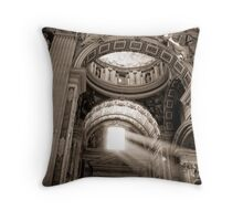 St Peter's Light Throw Pillow