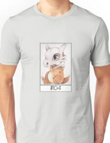 Cubone, lonely pokemon Unisex T-Shirt