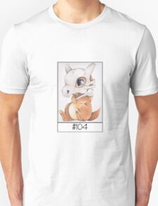 Cubone, lonely pokemon Unisex T-Shirt