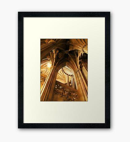 John Rylands Library Framed Print