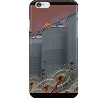 Grain Elevators iPhone Case/Skin