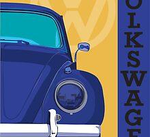 Retro Volkswagen by Joe Simpson