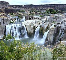 Shoshone Falls Twin Falls Idaho by grandmadd