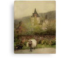 The Old Village Canvas Print