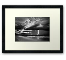 Summer Storm Framed Print