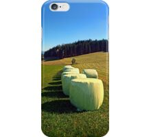 Marshmallows for cows | landscape photography iPhone Case/Skin