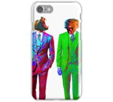 Monkey Suits iPhone Case/Skin