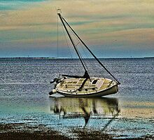 Sailboat at Rest by Nukee