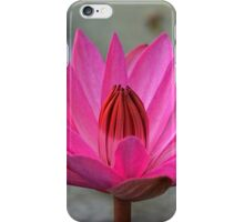 Lotus moment iPhone Case/Skin