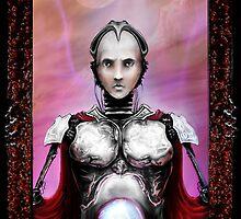 robotic clairvoyant.  by Alex Fricke