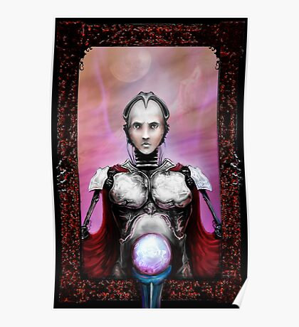 robotic clairvoyant.  Poster