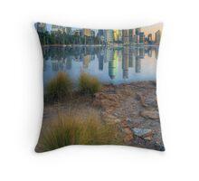 Brisbane City. Throw Pillow