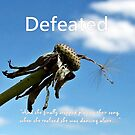 Defeated by Greeting Cards by Tracy DeVore