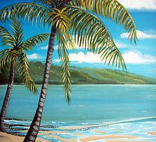 Palm Trees  by © Linda Callaghan