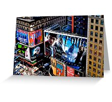 Billboard City Greeting Card