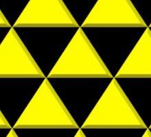 3D Triangles Sticker