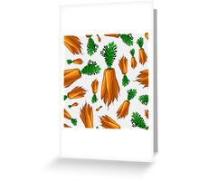 Veggiephile - Carrots Greeting Card