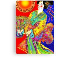 'Kabuki' Canvas Print