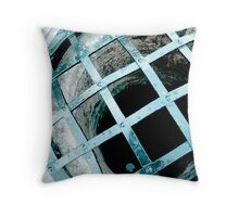 Water well and Grate Throw Pillow