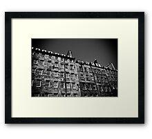 Royal Mile Flats Framed Print