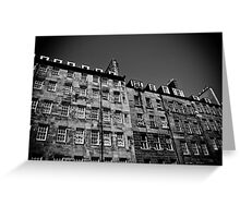 Royal Mile Flats Greeting Card