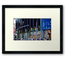 Broadway! Framed Print