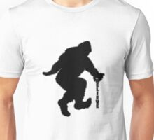 Bigfoot believe bg Unisex T-Shirt