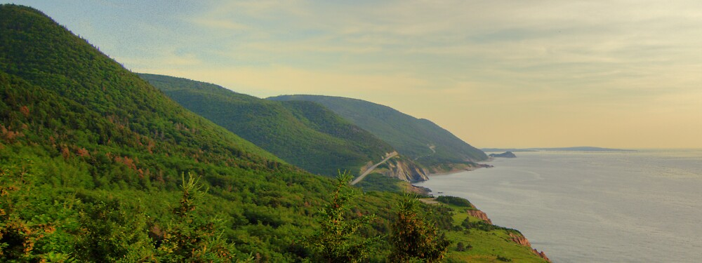 Cabot Trail to Ingonish to Cheticamp by Cameron  Allen Lamond