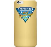 Nintendo World Championships 2015 Logo iPhone Case/Skin