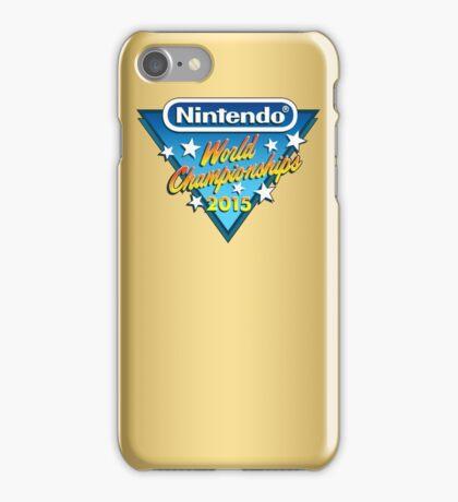 Nintendo World Championships 2015 Logo iPhone Case/Skin