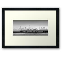 Melbourne Skyline #1 Framed Print