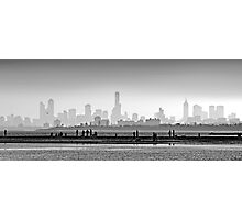 Melbourne Skyline #1 Photographic Print