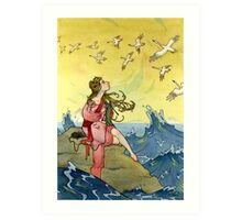 The Wild Swans Art Print