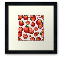 Veggiephile - Tomatoes Framed Print