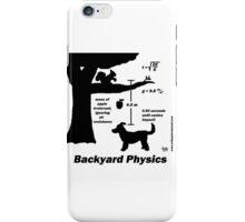 Backyard Physics iPhone Case/Skin