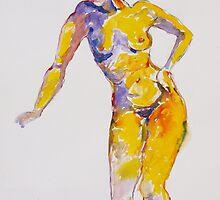 Orange Dancer # 1 by Virginia McGowan