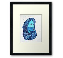 Drowning From the Inside Out Framed Print