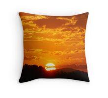 Blazing Sun Throw Pillow